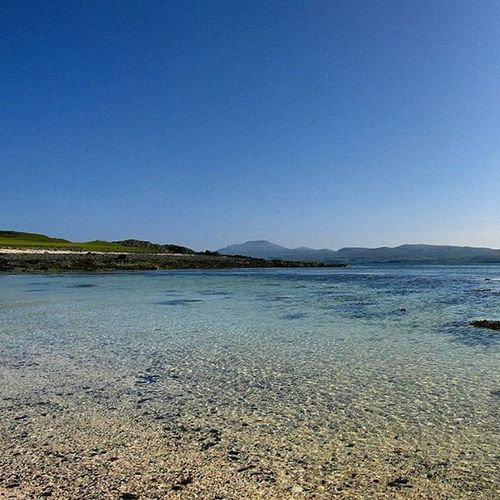 Coral Beach Dunvegan Isle of Skye Isle Of Skye Dunvegan Coral Beach, Isle Of Skye Blue Wave