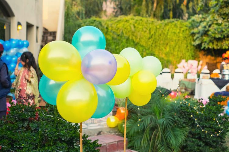 Party baloons.