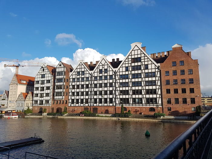Building Exterior Water Travel Destinations Old But Awesome Samsung Galaxy S7 River Love To Take Photos ❤ Sky Architecture Poland Gdansk (Danzig) October City History