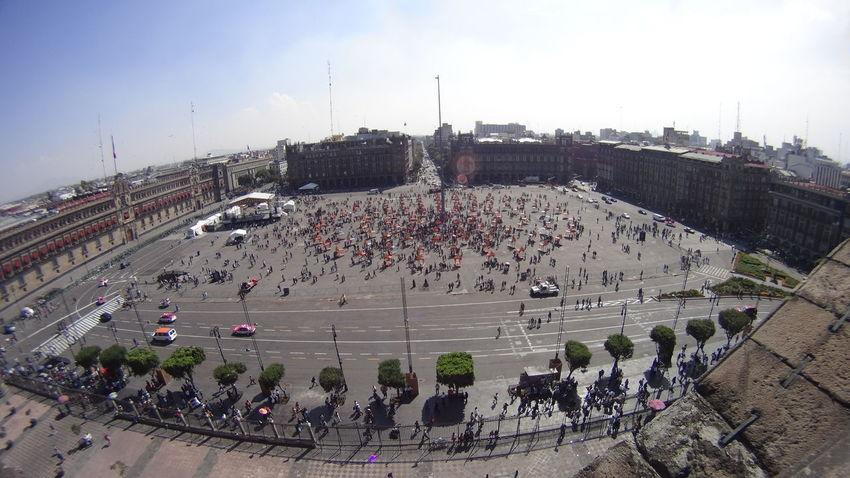Zócalo D.F Mexico City People