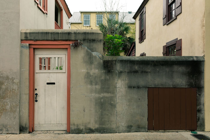 Wall Architecture Building Exterior Built Structure Day Door House No People Old Architecture Outdoors Wall - Building Feature Window