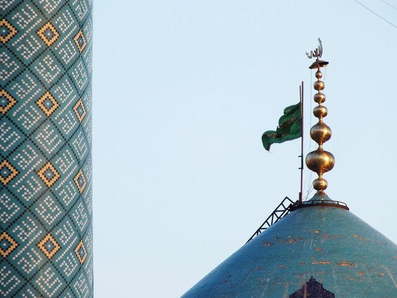 Mosque Religious Architecture Religious Art Blue Mosque Bluetiles Tiling Minaret