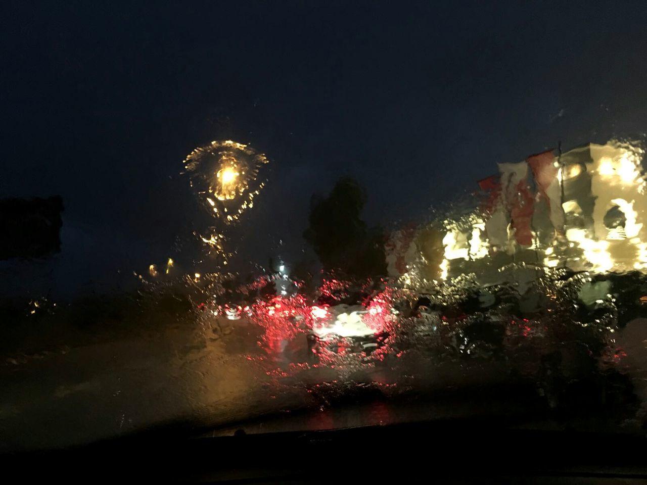night, illuminated, car, celebration, no people, transportation, outdoors, land vehicle, architecture, sky