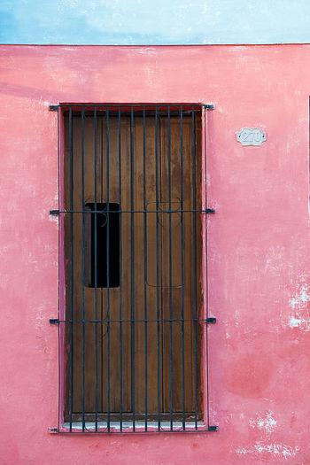 Pink wall,