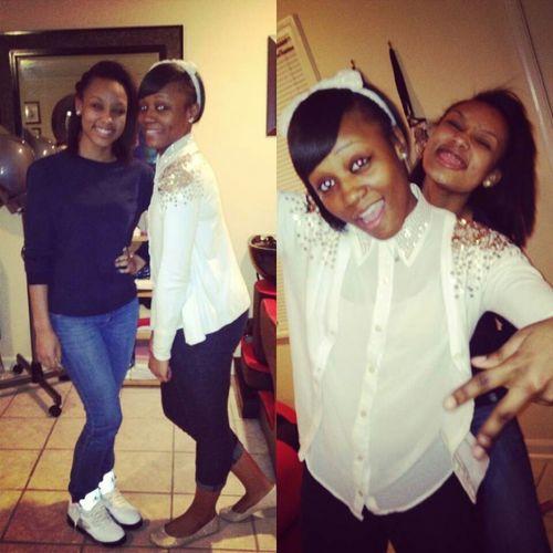 Me & My Lil Sista Jelani.
