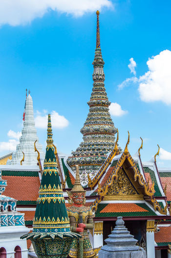 Grand palace against sky