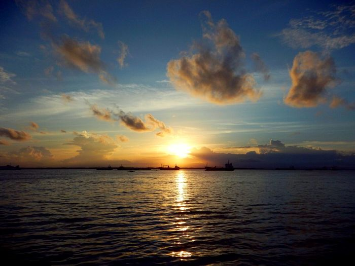Sunset_collection Sunset And Clouds  Sunset Lovers Sunset And Boat