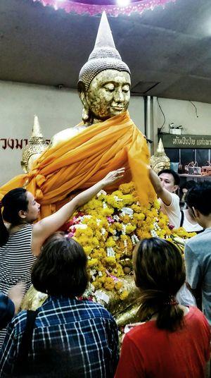 """""""มหาศรัทธา""""Wat Sothonwararam Budha"""