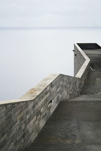 Architecture Simplicity Ocean View Lost In The Landscape Madeira Islands, Portugal