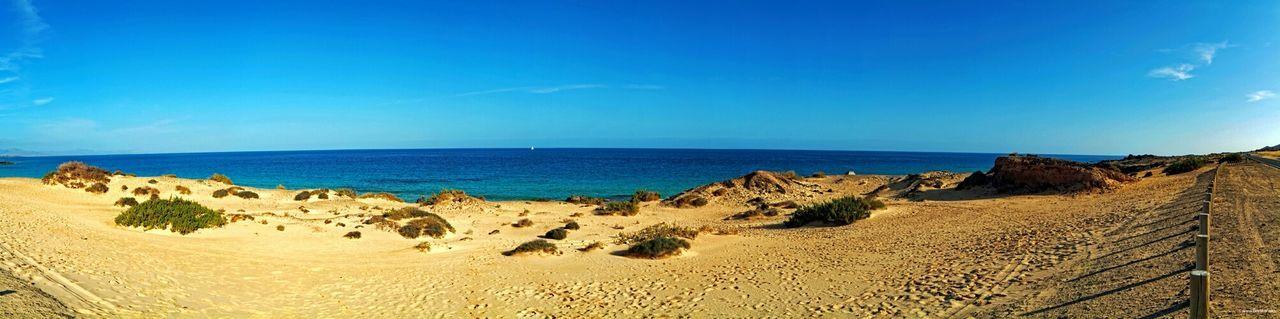 Fuerteventura Corralejo Strand Beach Panorama Nikon