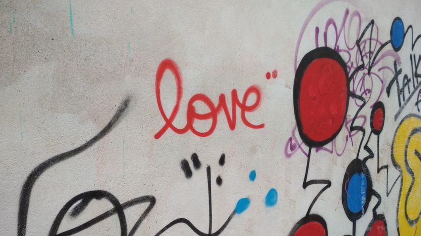 Rue Massenet Paris Graffiti Streetphotography Wall Love
