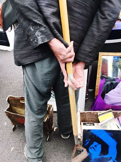 Battersea car boot sale Standing Fashion Adult Indoors  Only Men Men Day People Adults Only One Man Only Close-up Human Hand Battersea Car Boot Sale Car Boot Sale London