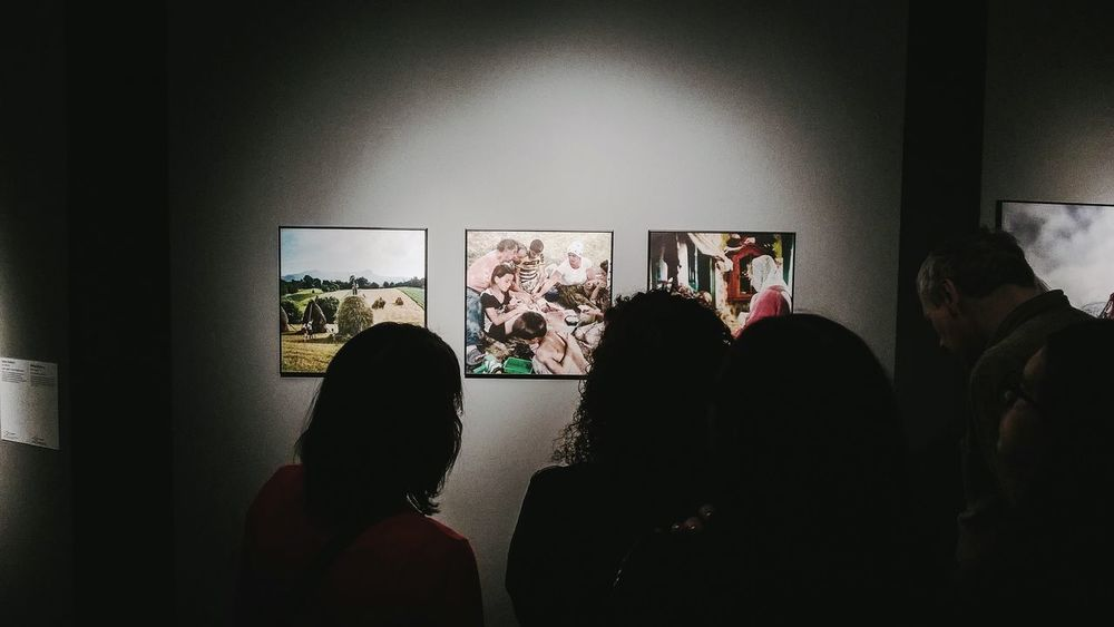 World Press Photo opening Everyday Joy Exhibition The Places I've Been Today