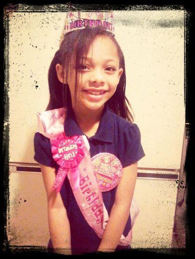 My Birthday Girl Before School