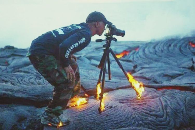 Get The Shot On Fire Lava All Or Nothing Get That Shot At All Cost