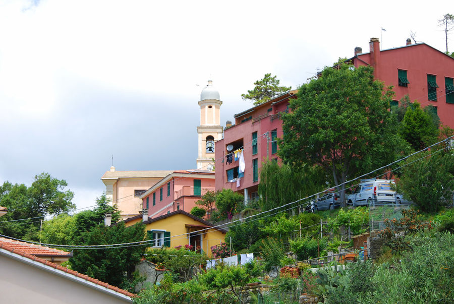 The village of Castagnola - Framura, La Spezia, Italy. Architecture Building Exterior Castagnola Day Framura House Italia Italy La Spezia Liguria No People Old-fashioned Outdoors Travel Destinations Tree Village