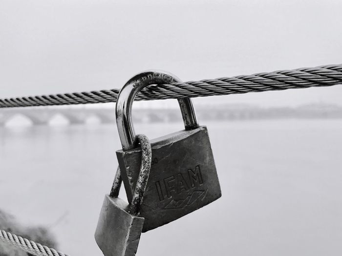 Locked together Security Padlock Love Lock Lock Locked Togetherness Together Forever Love Union Love Attached Beautiful Picoftheday EyeEm Best Shots Photooftheday Eye4photography  EyeEmBestPics Meaningful  Blackandwhite Blackandwhite Photography Tied Married Architecture