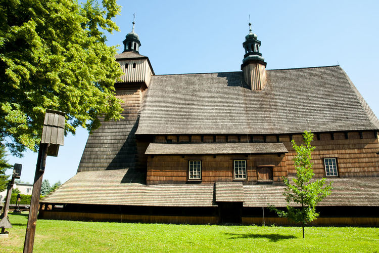 Assumption of Holy Mary Church Assumption Of Holy Mary Church Poland Wood Haczów Unesco Wooden