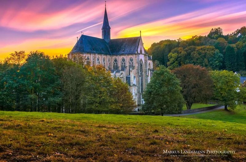 The Altenbergercathedral with a 600 sec. Long exposure during the sunset. Architecture History Scenics Formatt Hitech Firecrestfilters Sunset sunset #sun #clouds #skylovers #sky #nature #beautifulinnature #naturalbeauty Photography Landscape Sky Travel Travel Destinations Panoramic Multi Colored Rural Scene Outdoors Landscape Nature Fine Art Photography Long Exposure Longtime Exposure
