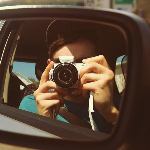 How something so simple like taking photos can bring so much enjoyment Photography Mirror Summer LivingNloving