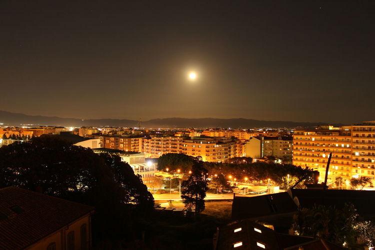 #Cagliari #Night #Panorama #casteddu #moon #full Moon #moonlight #moonlight #reflection #beauty #sunset #sun #clouds #skylovers #sky #nature #beautifulinnature #naturalbeauty #photography #landscape #view