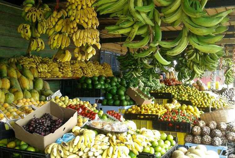 Fruit Market Food And Drink Healthy Eating No People Freshness Food