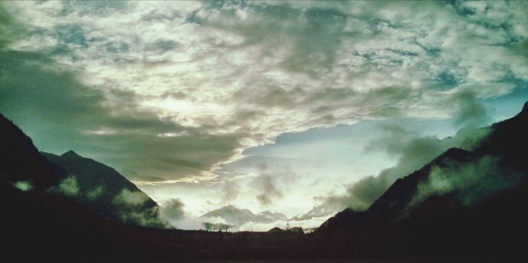 Abendstimmung Graswangtal Wolkenstimmung