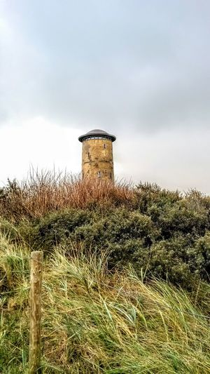 Beauty In Nature Nederlandse Natuur Architecture Nature Watertower Duinen En Zee Duin Landscape Day Outdoors No People Northsea Domburg  Nederland Holyday2016 Scenics Dune Grass Dune Landscape Minimalist Architecture