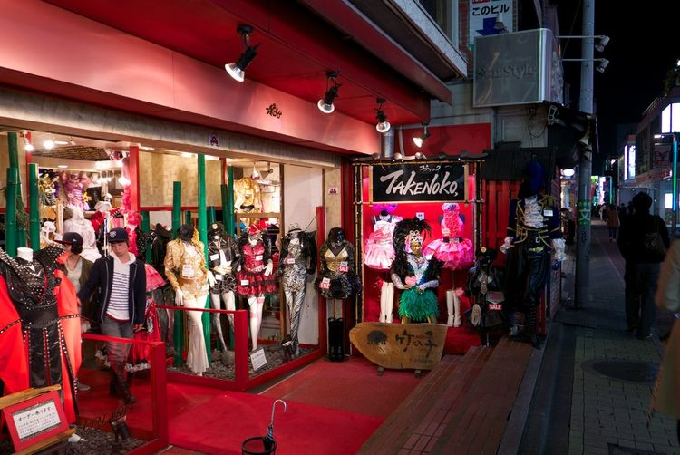 Darkness Harajuku Nightly Walk Street Photography TakeshitaDori TakeshitaStreet