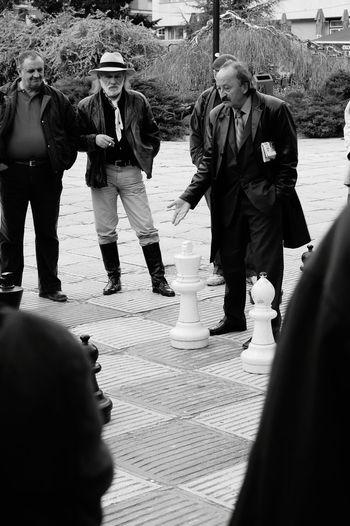 The Street Photographer - 2016 EyeEm Awards Chessgame Streetphoto_bw