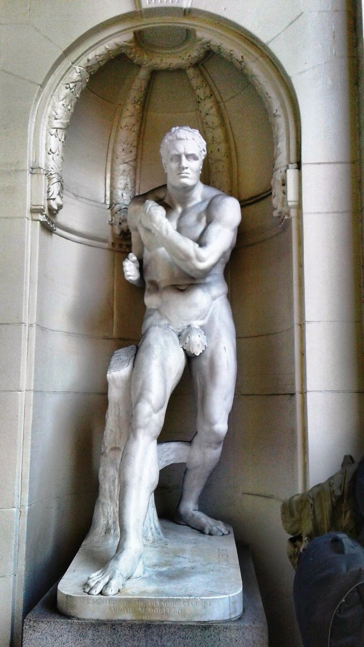 statue, sculpture, human representation, art and craft, male likeness, creativity, no people, indoors, day, renaissance, architecture