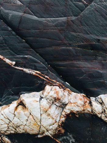 Rock Beach Sand Geology Abstract