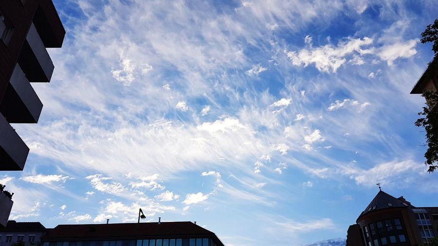 Dramatic sky in