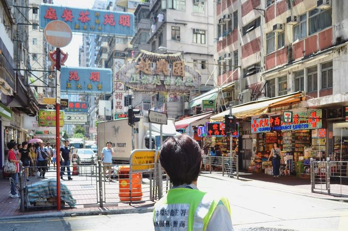 Overwhelming signs. Non-stop moving people. Seamless public transport system. This is HK Streetphotography Neighborhood Map