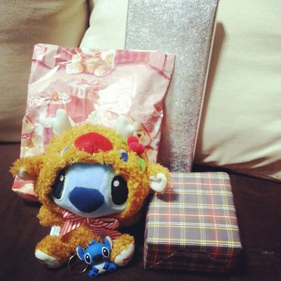 Some of the Xmas presents 2012 Christmas Stitch Thumbdrive softtoy unknown presents