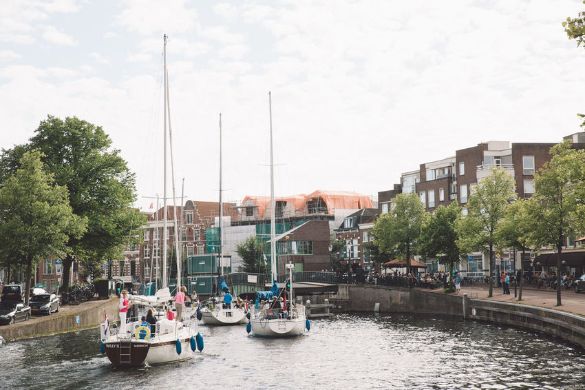 Architecture Haarlem Haarlemse Haarlemse Vaardagen 2017 Architecture Boats Building Exterior Built Structure Canal City Cruise Day Dutch Mode Of Transport Nautical Vessel No People Outdoors River Ships Sky Spaarne Transportation Tree Vaardagen Water