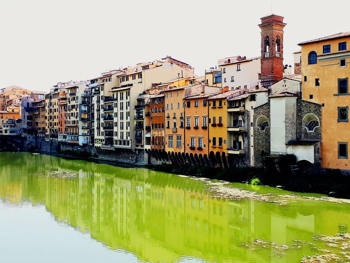 Arno Water City Clear Sky House Sky Architecture Building Exterior Built Structure
