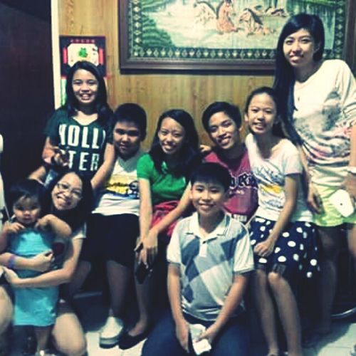 With the cousins and tita iana. ? First Eyeem Photo