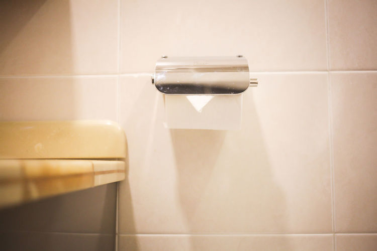 Close-up of bathroom