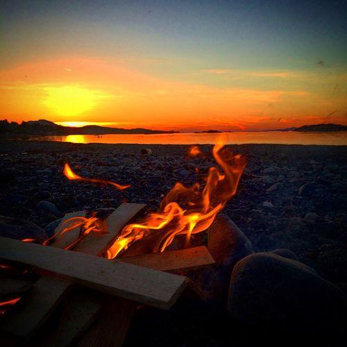 Beautiful night on the beach First Eyeem Photo