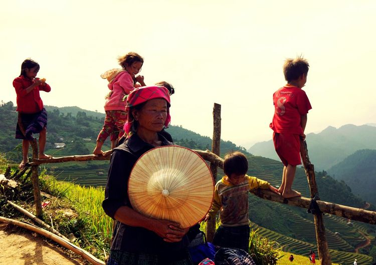 Farmlandscape On The Farm Traveling October2015 Mucangchai Vietnam Travel Photography Kidsphotography
