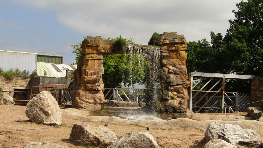 Chester Zoo Chesterzoo No People Outdoors Water Waterfall Zoo