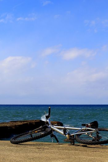 Spring has come Spring Has Come Sea Ataka Komatsu Sea Of Japan Byke Cycleworld Mountainbike