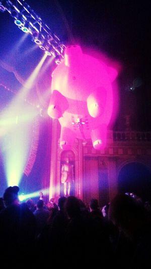 Concert Pink Floyd Pig
