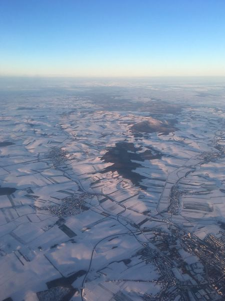 Snow Covered Snow Aerial View Tranquil Scene Beauty In Nature Nature Scenics Agriculture Landscape Patchwork Landscape Tranquility Rural Scene Cold Temperature Field View Into Land Winter Farm Clear Sky
