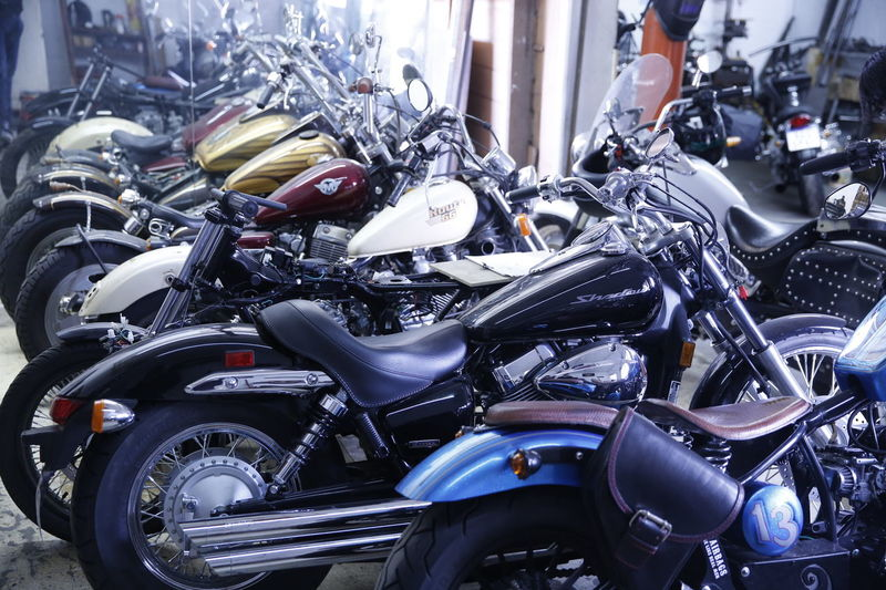 Motorcycle Bicker City Engine Focus On Foreground Metal Mode Of Transportation Outdoors Transportation