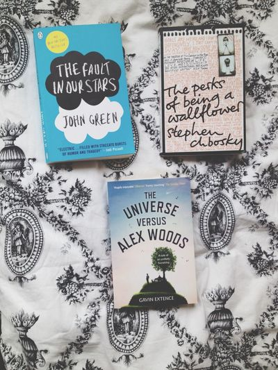 Books The Fault In Our Stars The Perks Of Being A Wallflower John Green