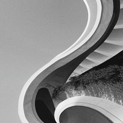 EyeEmNewHere Abstract look for Caladrava's world Caladrava's World Building Exterior Day Low Angle View Architecture Sky Built Structure Curve No People Outdoors Clear Sky Modern Architecture Organic Architecture