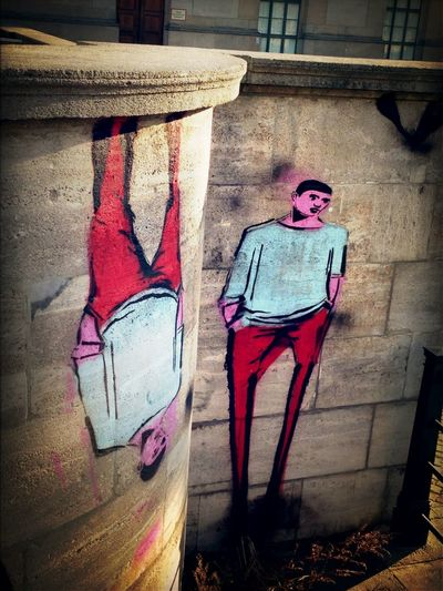The Man In Red Pants