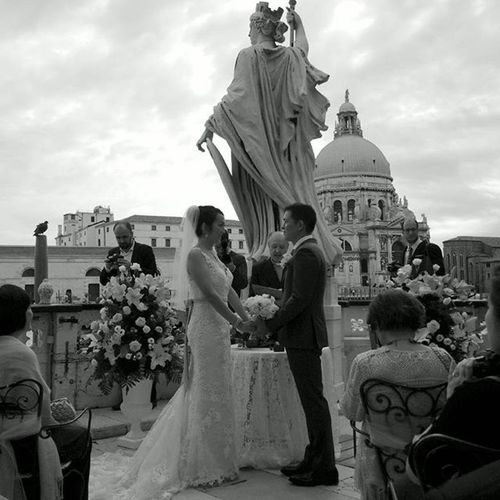 "And she said ""I do"" Venice Wedding Ido Beautifulcouple Happilyeverafter"